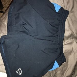 NIKE DRI FIT SHORTS, M BLUE